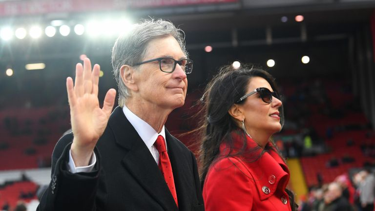 John W Henry's Fenway Sports Group bought Liverpool in 2010