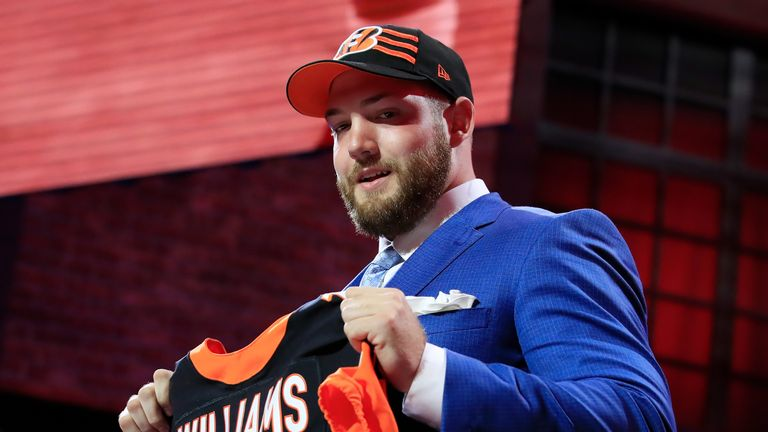 Cincinnati Bengals' rookie tackle Jonah Williams looks set to miss his entire first season