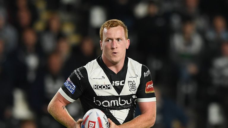 Jordan Thompson rejoined Hull at the start of the year but has now moved back to Leigh