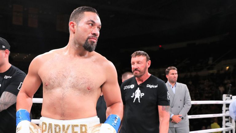 Joseph Parker will be ready to return in next few months