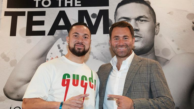 Joseph Parker returns against Alex Leapai next weekend, live on Sky Sports