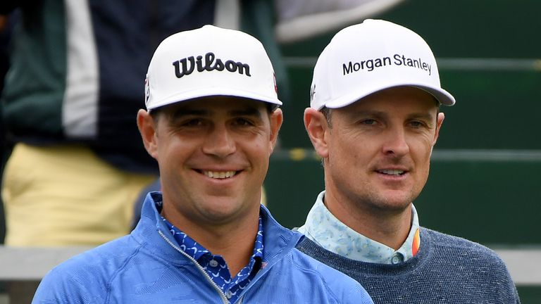 Rose and Gary Woodland will go out in the final group again on Sunday