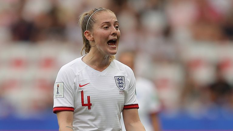 Walsh was a key part of the England squad that reached the Women's World Cup semi-finals