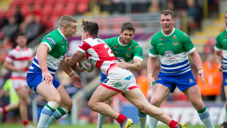 Leigh Centurions beat Workington Town in one of Sunday's 1895 Cup matches