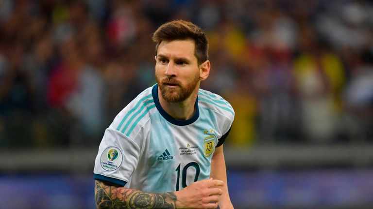 Lionel Messi is still yet to win a major tournament with Argentina