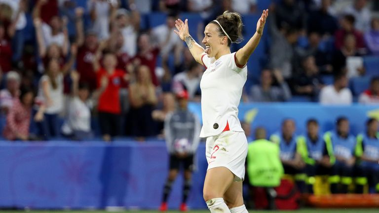 Lucy Bronze was runner-up to Rapinoe