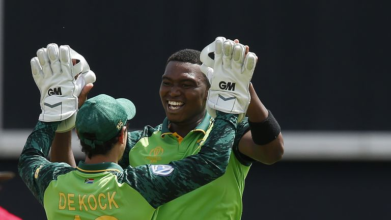 Lungi Ngidi should return for South Africa against New Zealand after overcoming a hamstring injury