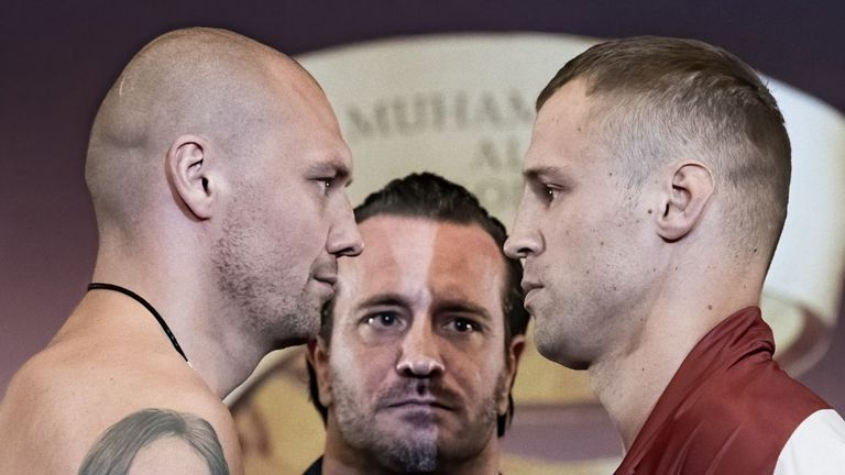 Krzysztof Glowacki and Mairis Briedis meet for a place in the WBSS final
