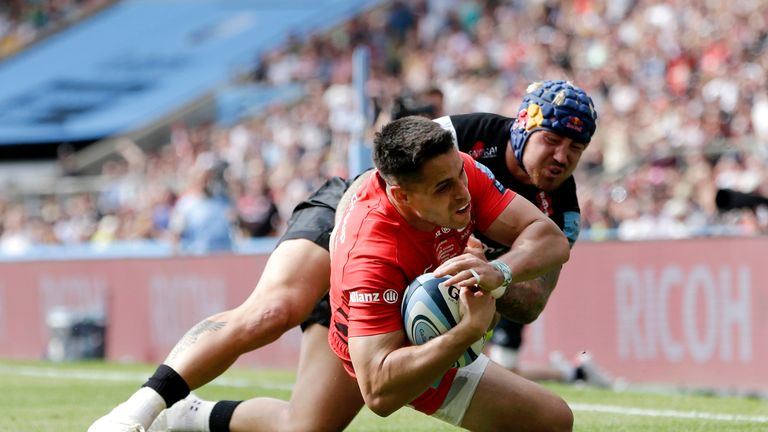 Sean Maitland's try completed the turnaround for Sarries