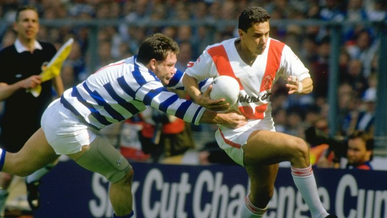 Halifax beat St Helens in the final last time they won the Challenge Cup