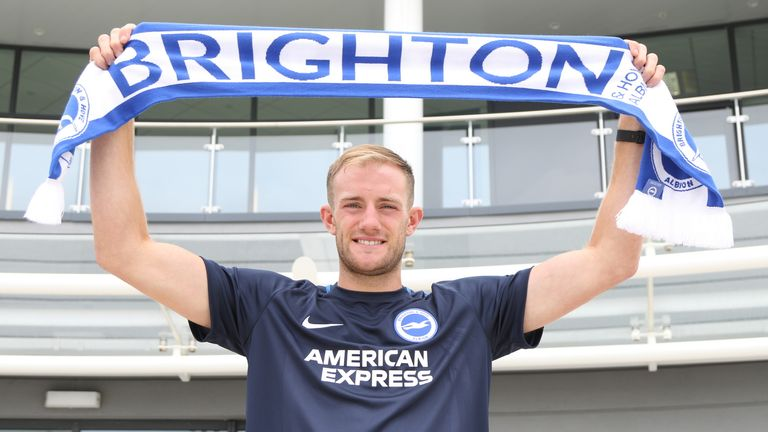 Matt Clarke will be playing in the Premier League with Brighton next season (pic courtesy of Brighton)