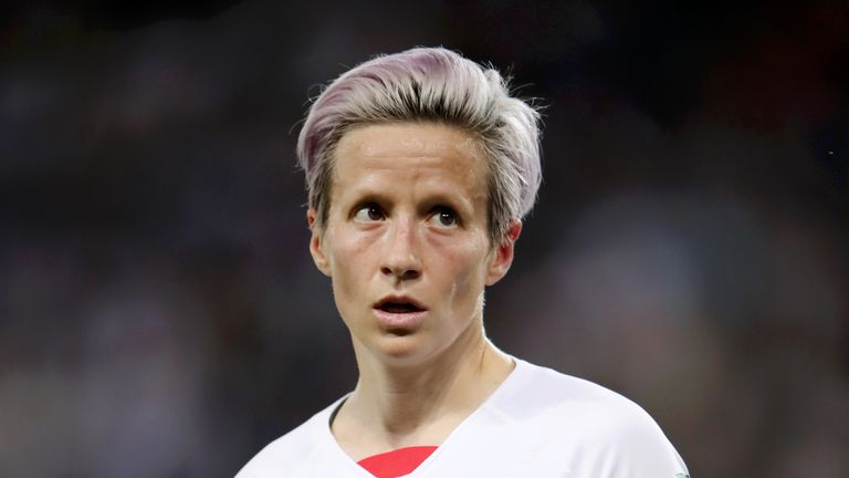 Megan Rapinoe scored both goals as the USA beat France in the Women's World Cup quarter-finals on Friday