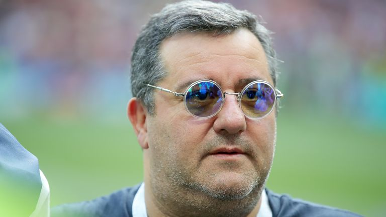 Kean's father is also unhappy with super agent Mino Raiola
