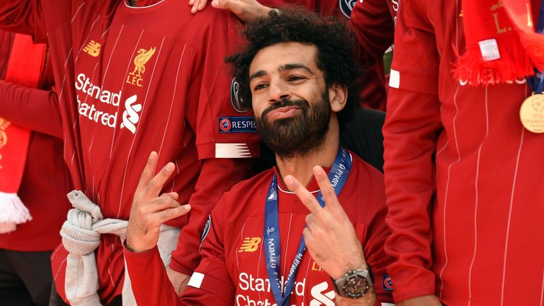 Mohamed Salah is wanted by Real Madrid