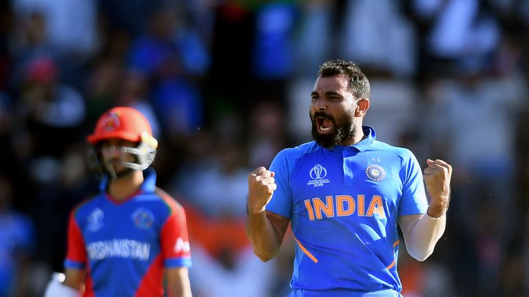 Mohammad Shami spearheaded the India attack with Jasprit Bumrah