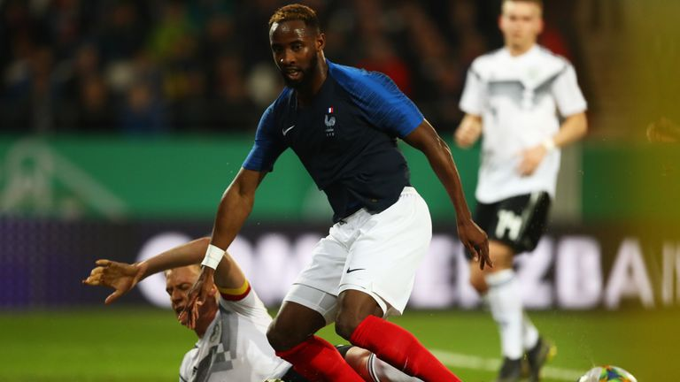 Lyon's Moussa Dembele is viewed as a key threat for France