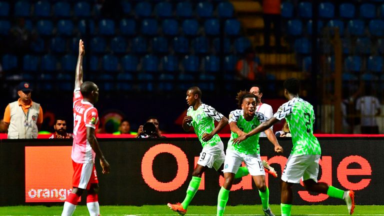 Odion Ighalo hit Nigeria's late winner