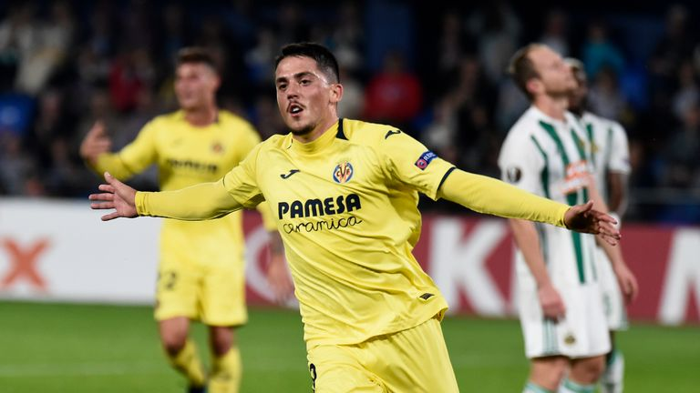 Pablo Fornals is valued at £31m by Villarreal