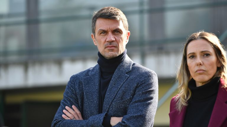 Paolo Maldini is AC Milan's new technical director