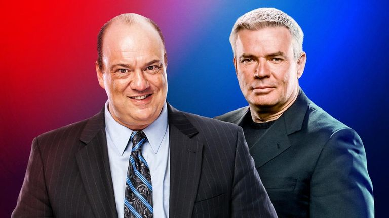 Paul Heyman will take charge of Raw and Eric Bischoff SmackDown in a behind-the-scenes shake-up at WWE