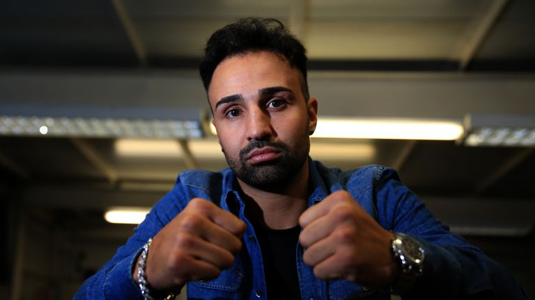 Paulie Malignaggi is a former two-weight world champion