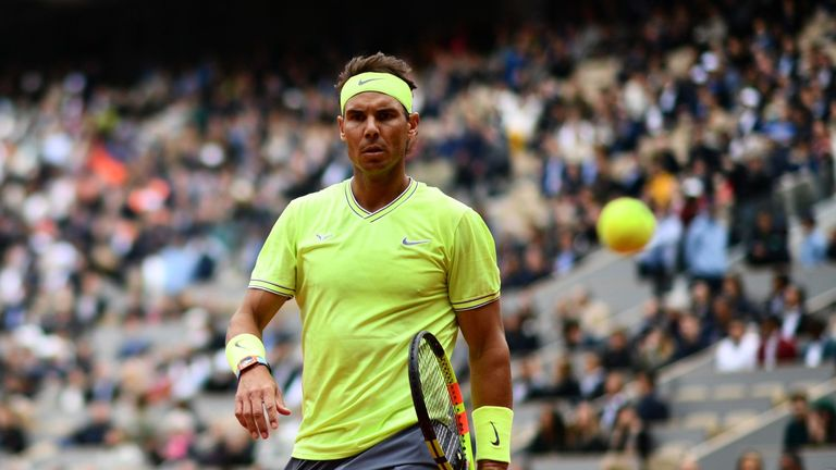 Nadal remains on course for a successful defence of his Roland Garros title