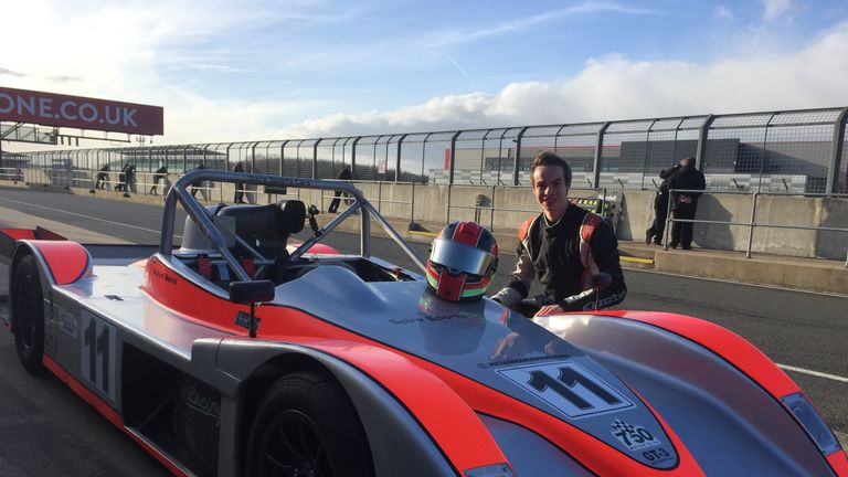 Richard Morris, the co-founder of Racing Pride, is a driver for Spire Sports Cars