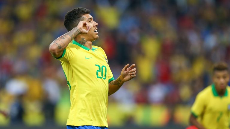 Roberto Firmino has made 44 international appearances for Brazil