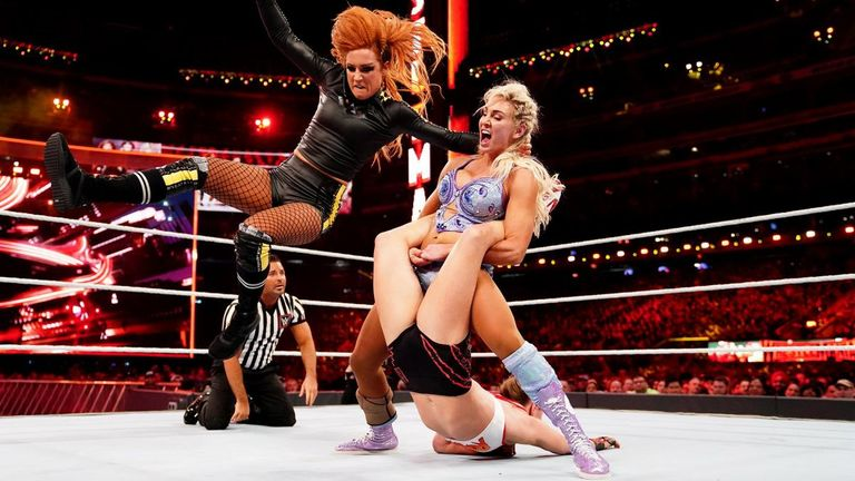 Will the WrestleMania 35 main event between Becky Lynch, Ronda Rousey and Charlotte Flair feature in your voting?
