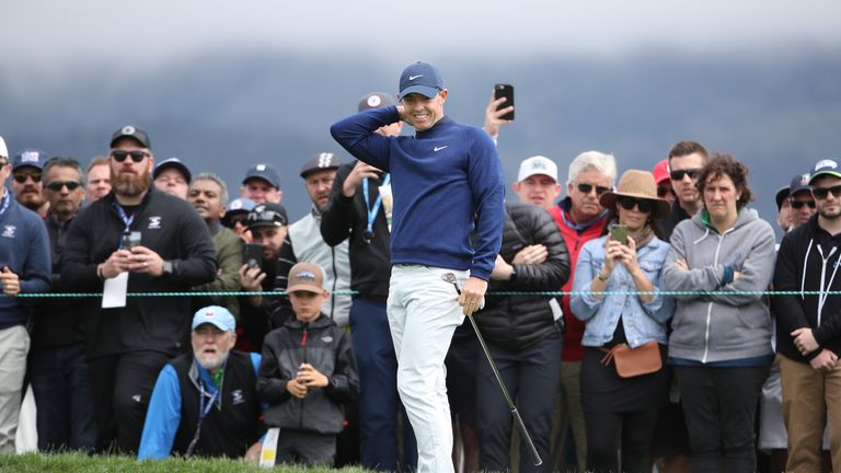 McIlroy birdied the last to card a third-round 70