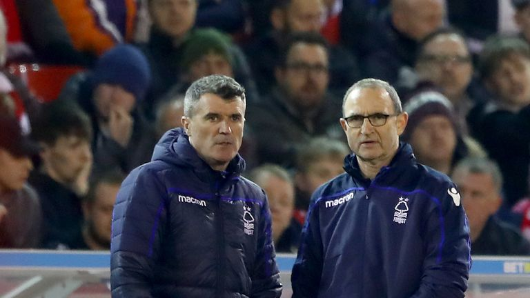 There is understood to be no animosity between Keane and Martin O'Neill
