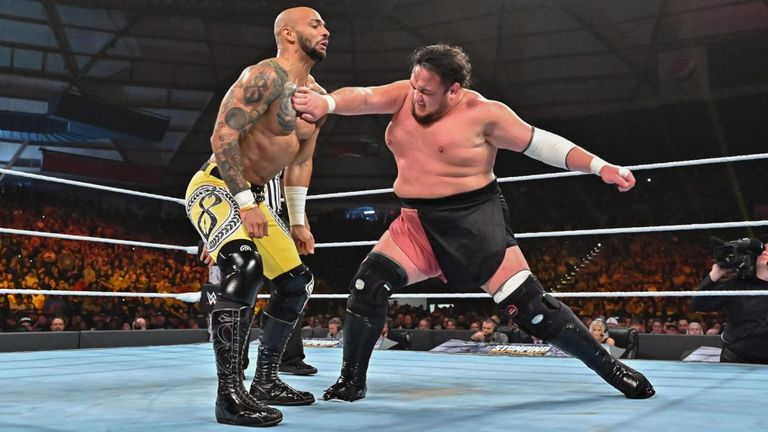Samoa Joe put on a great match with Ricochet but ultimately lost his title