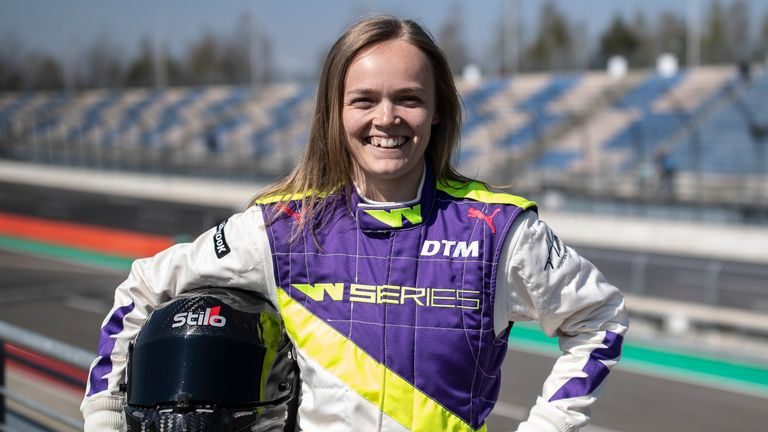 Sarah Moore competed in the inaugural W Series season and hopes to race at the 24 Hours of Le Mans in the future