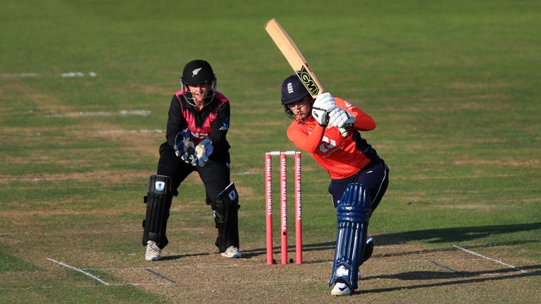 Sarah Taylor has scored seven hundreds in 122 ODIs for England