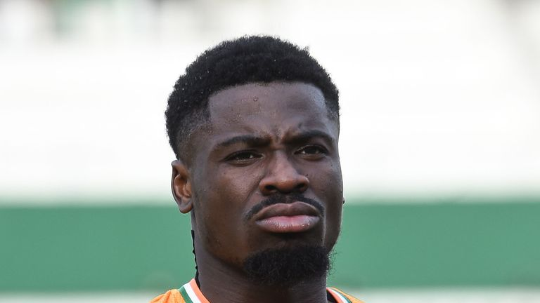 Serge Aurier could leave Tottenham this summer