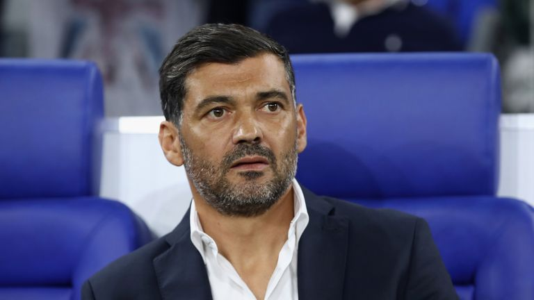 Porto boss Sergio Conceicao is interested in the vacant role at St James' Park - Sky sources