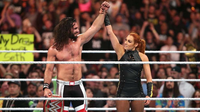 Seth Rollins and Becky Lynch could both lose their titles at Extreme Rules