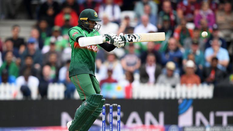 Shakib Al Hasan's unbeaten century leads Bangladesh to seven-wicket win over West Indies