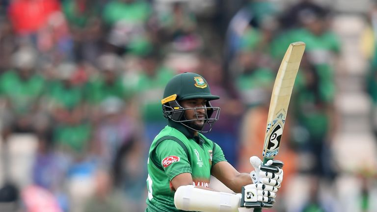 Shakib Al Hasan has failed to reach fifty only once so far in this World Cup