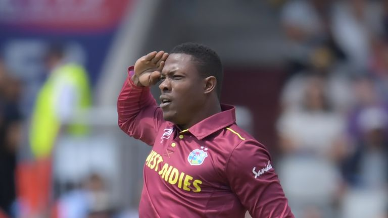 Kings XI fans will hope to see plenty of saluting from Sheldon Cottrell in the IPL