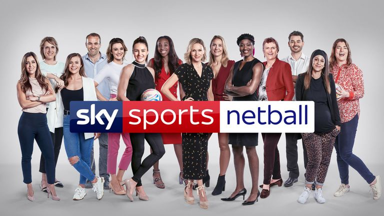 Agbeze and Sharni Layton have been added to an exciting Sky Sports line-up for this summer's Vitality Netball World Cup