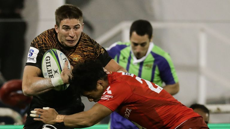 Jaguares wing Sebastian Cancelliere impressed against the Sunwolves