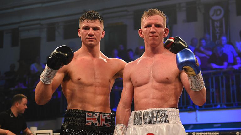 Ted Cheeseman (right) was left frustrated by the result