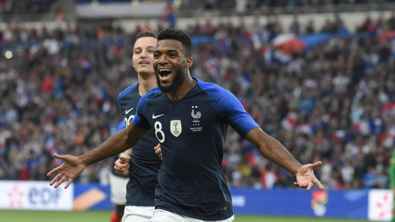 Thomas Lemar is being linked with a host of London clubs