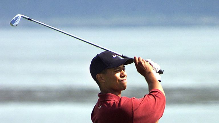 Woods won 14 major titles before his well-publicised fall from grace almost 10 years ago