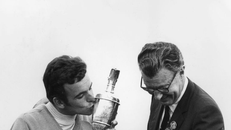 Jacklin ended the week on four under and two ahead of Bob Charles