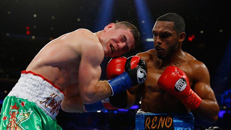 Tureano Johnson beat Ireland's Eamonn O'Kane at Madison Square Garden in 2015