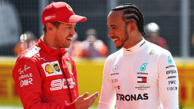 Lewis Hamilton says Sebastian Vettel 'clearly not' Ferrari No 1 | F1 News