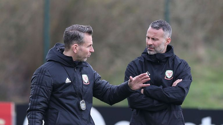 Albert Stuivenberg  (left) is on Swansea's managerial shortlist