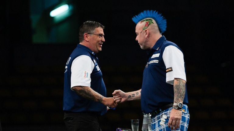Anderson and Wright are bidding to secure a first World Cup crown for Scotland